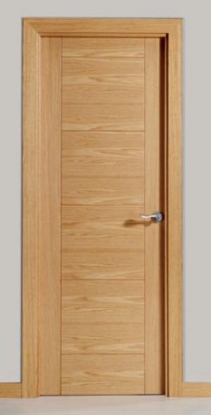 Carpinteria y decoracion h ortiz puerta mod viva - Puertas de interior de roble ...